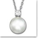 Swarovski Crystal and Pearl Tricia Pendant Necklace