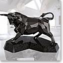 Swarovski Crystal, Soulmates Black Bull Sculpture