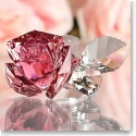Swarovski Crystal, Blossoming Rose, Light Rose