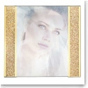 "Swarovski Crystal, Starlet Golden Shadow 5x7"" Picture Frame, Large"
