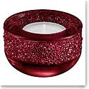 Swarovski Shimmer Tea Light, Red