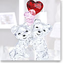Swarovski Crystal Kris Bear Heart Balloons