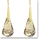 Swarovski Energic Golden Pierced Earrings