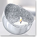 Swarovski Crystal Minera Tea Light Holder, Silver Tone