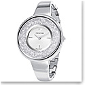 Swarovski Crystalline Pure Watch, Metal bracelet, White, Stainless steel