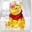 Swarovski Crystal Disney Winnie The Pooh With Butterfly