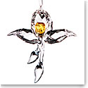 Swarovski African Orchid Ornament