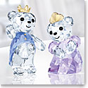 Swarovski Crystal, Kris Bear, Prince and Princess