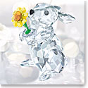 Swarovski Crystal, Rabbit With Sunflower