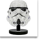 Swarovski Crystal Myriad Star Wars Stormtrooper Helmet Limited Edition Sculpture