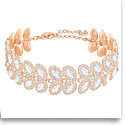 Swarovski Crystal and Rose Gold Baron Bracelet