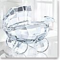 Swarovski Crystal, Baby Pram