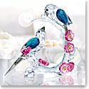 Swarovski Crystal, Paradise Magpies Sculpture