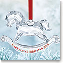 Swarovski Crystal, 2018 Babys 1st Christmas Ornament Annual Edition