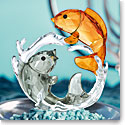 Swarovski Crystal, Asian Double Carps