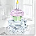 Swarovski Crystal, Baby Cupcake Wagon