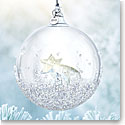 Swarovski Crystal, 2018 Christmas Ball Ornament, Annual Edition