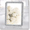 "Swarovski Crystal, Minera 4x6"" Picture Frame, Silver Tone"