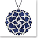 Swarovski Lucius Flower Crystal Rhodium Pendant Necklace