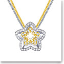 Swarovski Lovesome Flower Crystal Multi Metal Pendant Necklace