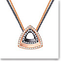 Swarovski Lovesome Triangle Crystal Multi Metal Pendant Necklace