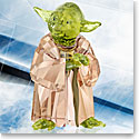 Swarovski Crystal, Star Wars Master Yoda Sculpture