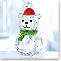 Swarovski Crystal, Rocking Polar Bear Figurine