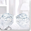 Swarovski Crystal, Baby Tortoises Figurines, Pair