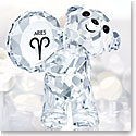 Swarovski Crystal Kris Bear Horoscope Aries Crystal Sculpture