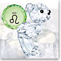 Swarovski Crystal, Kris Bear Horoscope Leo Crystal Sculpture
