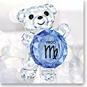 Swarovski Crystal Kris Bear Horoscope Virgo Crystal Sculpture