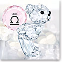 Swarovski Crystal, Kris Bear Horoscope Libra Crystal Sculpture