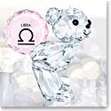Swarovski Crystal Kris Bear Horoscope Libra Crystal Sculpture
