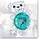 Swarovski Crystal Kris Bear Sagittarius Horoscope Sculpture