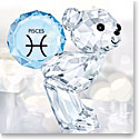 Swarovski Crystal, Kris Bear Horoscope Pisces Crystal Sculpture