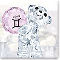 Swarovski Crystal, Kris Bear Horoscope Gemini Crystal Sculpture