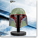 Swarovski Crystal, Star Wars Boba Fett Helmet Myriad Limited Edition Sculpture