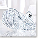 Swarovski Crystal Graceful Swan Crystal Sculpture