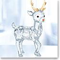 Swarovski Crystal, 2018 Santa's Reindeer Figurine
