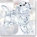 Swarovski Crystal, Standing Labrador Puppy Figurine