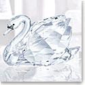Swarovski Crystal, Swan Crystal Figurine, Small