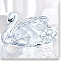 Swarovski Crystal, Swan Crystal Figurine, Large