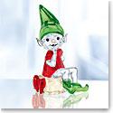 Swarovski Crystal, 2018 Santa's Elf Figurine