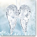 Swarovski Crystal, Angel Wings Christmas Ornament