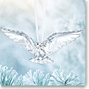 Swarovski Crystal, 2018 Peace Dove Christmas Ornament
