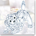Swarovski Crystal Playing Labrador Puppy Figurine