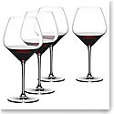 Riedel Heart to Heart Pinot Noir Wine Glasses Gift Set, 3+1 Free