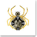Swarovski Magnetic Spider Multi Colored Brooch