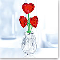 Swarovski Crystal, Flower Dreams Hearts Flower Pot
