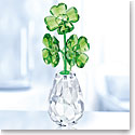 Swarovski Crystal, Flower Dreams Lucky Four Leaf Clovers Flower